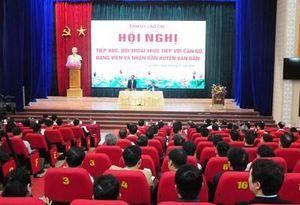 Đối thoại để gỡ khó ở Lào Cai