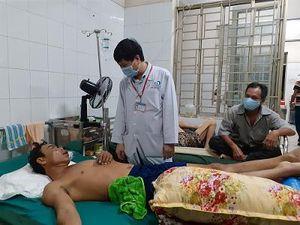 Vụ sập tường tại KCN Giang Điền: Các nạn nhân được sơ cấp cứu và điều trị kịp thời