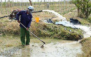 Chủ động nguồn nước cho vụ hè thu ở Nam Trung Bộ