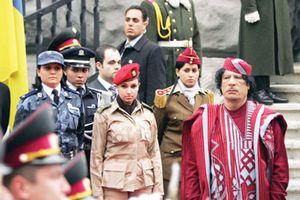 'Nô lệ tình dục' của ông Gaddafi