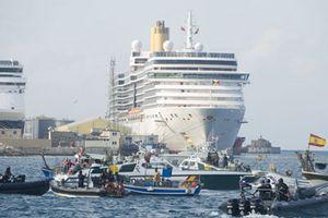 Tàu Anh và Tây Ban Nha chạm trán ở Gibraltar