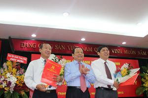 Ông Trần Thế Lưu làm Trưởng ban Nội chính Thành ủy TP.HCM