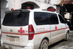Xe cứu thương dùng biển số giả chở thú rừng quí hiếm