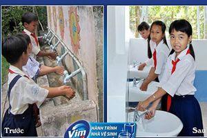 800 cụm nhà vệ sinh cho thế hệ măng non