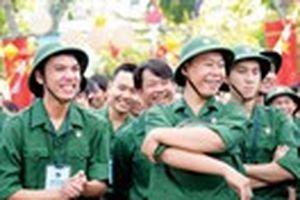 Những chàng trai tình nguyện nhập ngũ