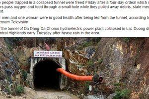 Thế giới thán phục vụ giải cứu 12 công nhân Việt Nam sau 80 giờ mắc kẹt