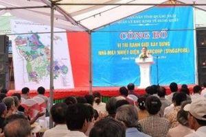 Quảng Ngãi muốn đẩy nhanh tiến độ Nhiệt điện Sembcorp