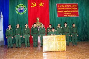 Lữ đoàn 21, Trung tâm Huấn luyện, BĐBP Kon Tum ra quân huấn luyện năm 2015