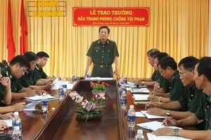 Thưởng nóng 30 triệu đồng BĐBP Kiên Giang