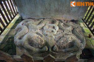 Cận cảnh kiệt tác bia đá cổ thời Lý