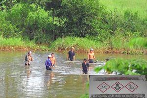 'Săn' cá trong hồ nhiễm dioxin sân bay Biên Hòa để ăn và đem bán