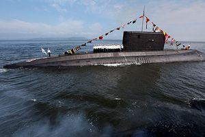 Tàu ngầm Kilo Nga phóng tên lửa hành trình diệt IS
