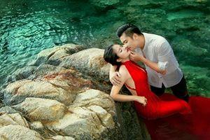 Bộ ảnh cưới lãng mạn của Vân Trang ở Ninh Thuận