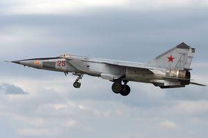 Tiêm kích siêu tốc MiG-25 của Syria giờ ra sao?