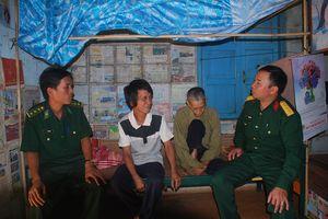 Nét đẹp người lính nơi vùng biên Ia Nan