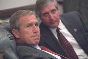 Ảnh chưa từng công bố về cựu Tổng thống Bush ngày 11/9