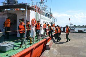 BĐBP Nghệ An điều động 3 tàu tìm kiếm máy bay Su30 bị rơi