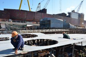 Cấp phép khởi công dự án đóng tàu và dịch vụ hậu cần nghề cá tại Quảng Ngãi