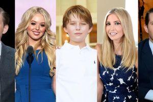 Năm người con đẹp như thiên thần của tân Tổng thống Donald Trump
