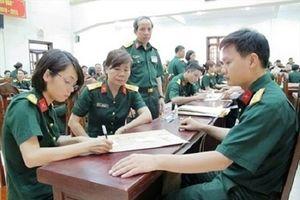 Tiêu chuẩn sức khỏe khi vào quân đội
