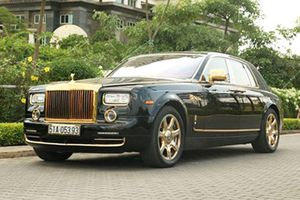 Những siêu xe Rolls-Royce tiền tỷ, mạ vàng của đại gia Việt