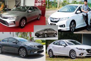 Lý giải sức hút của 5 mẫu sedan bán chạy nhất Việt Nam