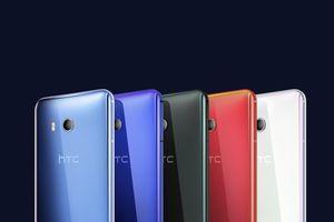 HTC U11 với khả năng bóp để thao tác, màu sắc biến ảo