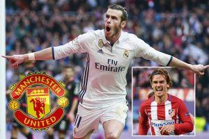 MU sẽ ra sân thế nào với Bale, James Rodriguez và Griezmann?
