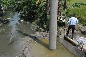 EVN Hà Nam đổ lại móng cột điện, dân khiếu kiện đã toại nguyện