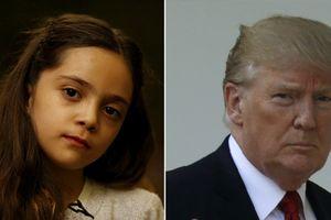 Bé gái Syria 'quyền lực' ngang Tổng thống Donald Trump