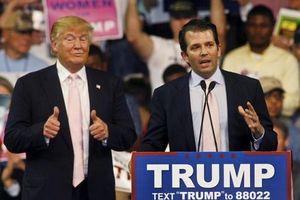 Con trai Tổng thống Mỹ Donald Trump giúp bố công kích CNN