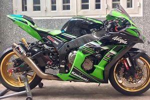 Dân chơi Việt chi 200 triệu độ siêu môtô Kawasaki ZX-10R