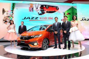 Mẫu xe Jazz làm 'nóng' gian hàng Honda tại VMS 2017
