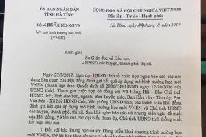 Hương Sơn, Hà Tĩnh: Trút bỏ gánh nặng VNEN, phụ huynh thở phào nhẹ nhõm