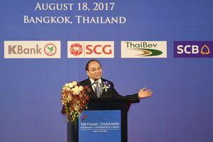 Thủ tướng mong DN Thái, Việt cùng hợp tác, cùng hành động để thành công