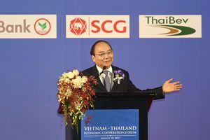 Thủ tướng: Đẩy mạnh hợp tác đầu tư toàn diện Việt Nam - Thái Lan