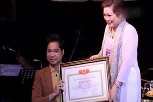 Lùm xùm việc cấp bằng khen cho ca sỹ Ngọc Sơn
