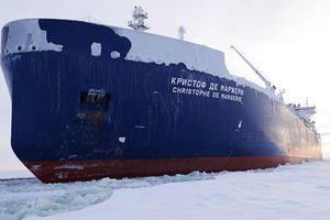 Tàu vận tải biển đầu tiên vượt Bắc cực thành công