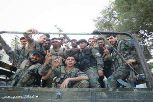 Chùm ảnh Quân đội Syria thắng lớn ở Đông Damascus