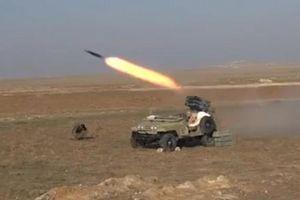 Quân đội Syria tấn công phiến quân IS ở Tây Deir Ezzor
