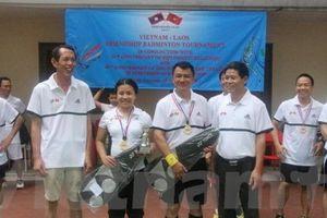 Giao lưu thể thao hữu nghị Việt - Lào tại Jakarta