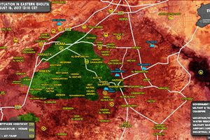 Sập bẫy phục kích toán phiến quân mất mạng, tăng T-72 Syria bị bắn cháy (video)