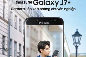 Smartphone camera kép Galaxy J7+ giá 8,69 triệu đồng