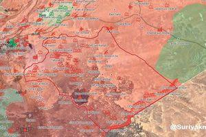 Quân đội Syria nghiền nát FSA Mỹ chống lưng, quét sạch biên giới với Jordan (video)