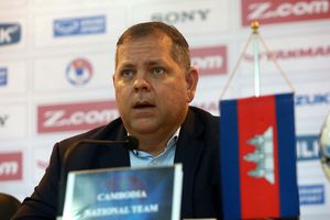 Leonardo Vitorino thôi giữ chức HLV trưởng đội tuyển Campuchia