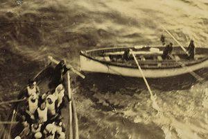 Ảnh hiếm chụp nạn nhân được cứu sau khi tàu Titanic chìm
