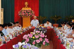 Tổng Bí thư Nguyễn Phú Trọng: Nghệ An phải có khát vọng vươn lên mạnh mẽ hơn nữa