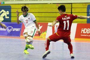 Sai lầm chiến thuật, ĐT Futsal Indonesia bại trận trước Myanmar