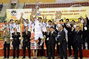 AFF HDBank Futsal Championship 2017: Thái Lan bảo vệ thành công ngôi vương