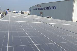Hiệu quả từ hệ thống năng lượng mặt trời của Trung tâm logistic ICD Tiên Sơn